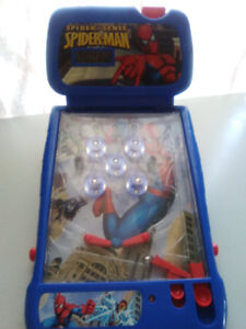 spider-man tabletop pinball machine