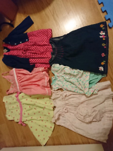 9 to 12 month baby girl clothes and plus