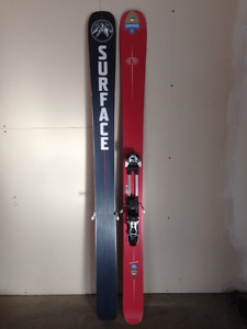 Surface Live Free Touring Skis