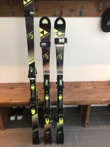 Ski Slalom et GS Fischer