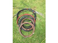 Steering cables & throttle cables. Grab the lot £50!!