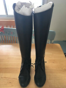 Brand New Tall Leather Riding Boots