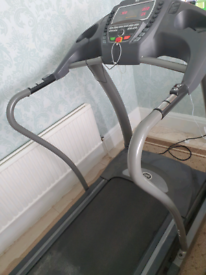 Horizon T4000 Premier Folding Treadmill Gym