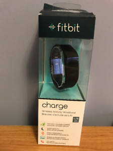 FitBit Charge Size L Black band NEVER USED