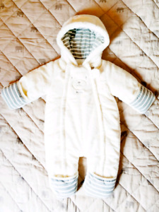 Brand New Baby Fur Snowsuit from absorba