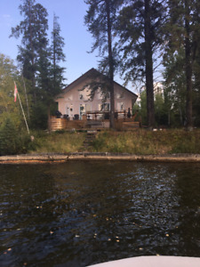 House at Nellie Lake