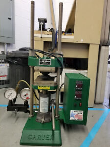 CARVER Press with Heated Platens
