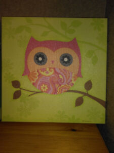Owl Canvas Pictures