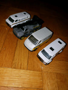 Matchbox utility Van's and truck