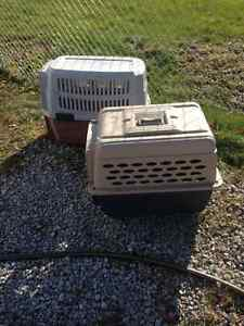 Two dog cages for cheap ' will separate