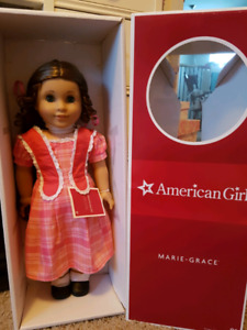 American girl doll Marie Grace and extras