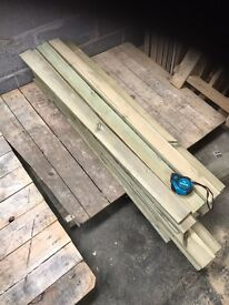 Fence boards 1300mm X 75mm X 18mm