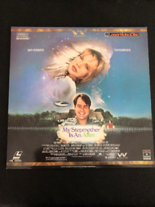 """My Stepmother Is An Alien"" Laser Video Disc"