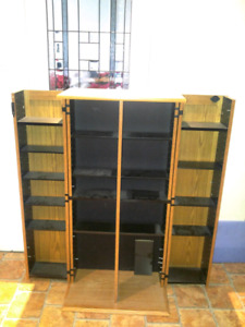DVD CABINET HOLDRR with keys