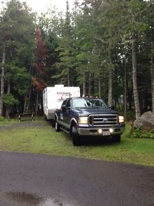 Travel trailer delivery service through the Atlantic provinces