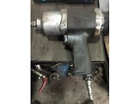 Snap on blue point 1/2 air tool