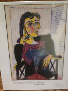 Picasso Portrait of Dora Maar Jigsaw Puzzles - New
