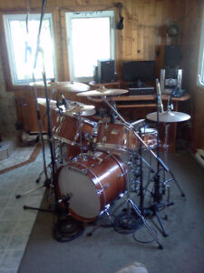 Drum/batterie Ludwig Vintage + supraphonic + cymbales