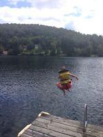 Chalet à louer Saint-adolphe -d'Howard bord du lac