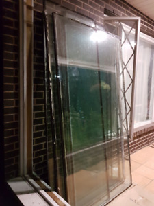 Very Sturdy Thermopane Tempered Glass Windows