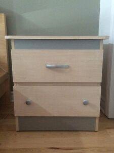 Lit Ikea Malm + Bureaux
