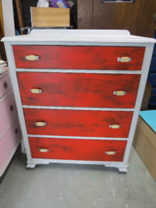 Various shabby chic dressers