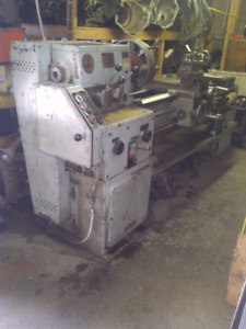 "$4000.00obo Large Metal Lathe AFM 13"" swing, 7ft gap bed"