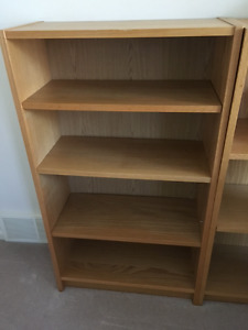 5 IKEA Billy bookcases
