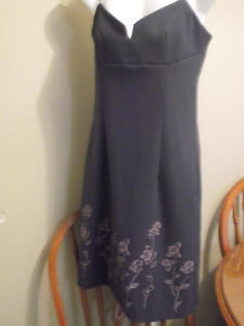 Ladies Charcoal Grey Dress - Size 9 - Reduced Price