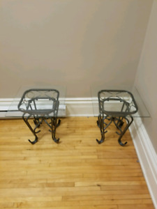 Two matching end tables for sale!