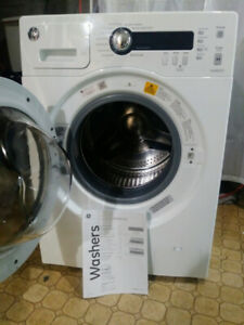 Space-Saver GE washing machine for your condo/apt.
