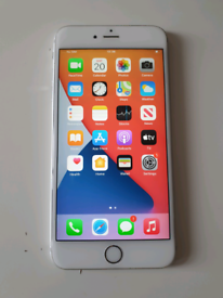 Apple iPhone 6s Plus 64GB Silver (O2 network, tescomobile & GRIFFITH)