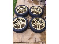 "Subaru wheels 17"" 5x100"