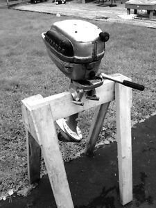 4 hp Evinrude Lightwin outboard boat motor