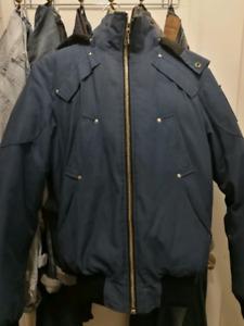 Moose knuckle winter bomber men size small