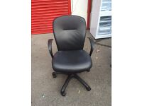 Leather office chairs job lot