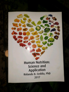 Human nutrition: science a d application