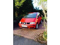 Seat Alhambra SX 1.9 TDi, 130 bhp for sale. PRICE DROP