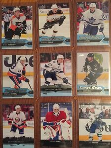 Upper deck young guns