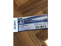 1 Stone roses Friday seated ticket