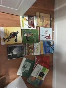 Texts books for sale used for psw , Rpn and pre health