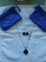 Tacori necklace and earrings
