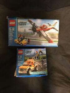 LEGO City: Fire Truck 60002, Light Repair Truck 60054, Airport