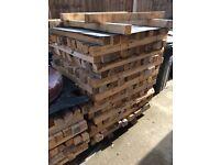 Timber posts bearers