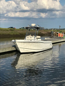 2005 Polar 2300 CC Off Shore Fishing Boat, Yamaha 4 Stroke