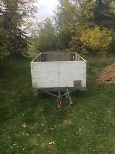 6ft x 8ft Utility Trailer $550 OBO Free Delivery