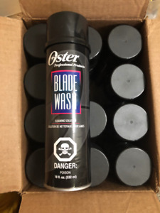 Cs/12 Oster Blade Wash 18 oz each - New in Box