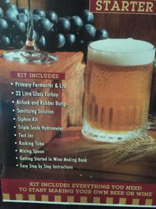 Make your own wine/beer starter kit NEW