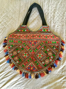 Hand-crafted Bag from India
