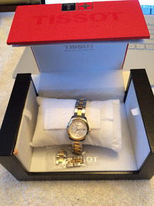 Ladies PR100 TISSOT watch, with box and manuals